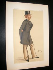 Vanity Fair Print 1892 Lord Charles William Brudenell-Bruce